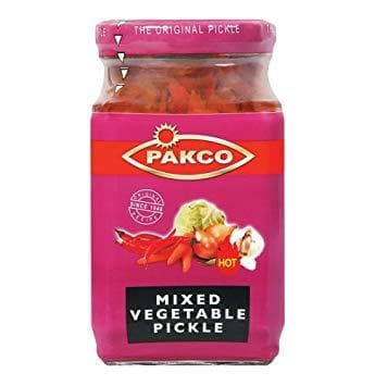 PAKCO Mixed Vegetable Pickle (350 g) from South Africa - AUBERGINE FOODS Canada
