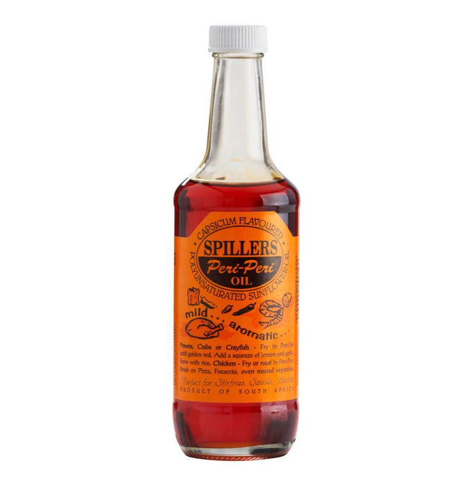 Spillers Peri-Peri Oil (250 ml) from South Africa - AUBERGINE FOODS Canada