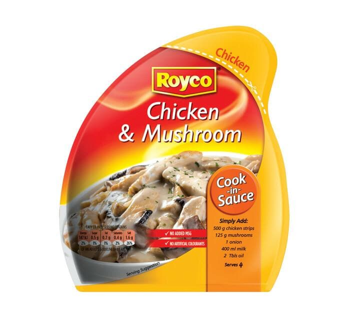 ROYCO Chicken & Mushroom (44 g) from South Africa - AUBERGINE FOODS Canada