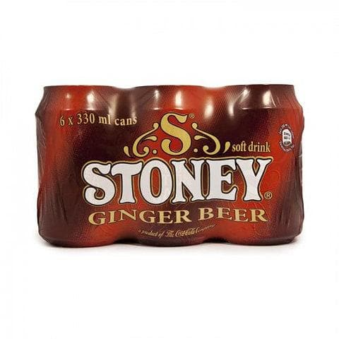 Stoney Ginger Beer (6 x 330ml) from South Africa - AUBERGINE FOODS Canada