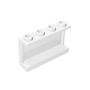 Panel 1x4x2 with Side Supports-Hollow Studs #14718