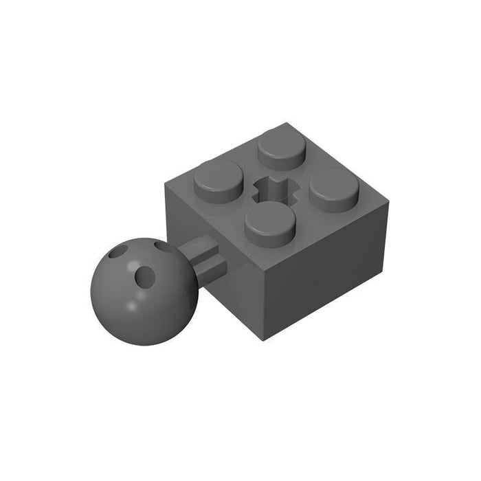 Brick Modified 2x2 with Ball and Axle Hole #57909