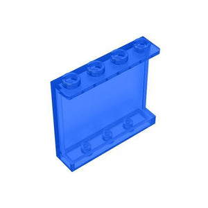 Panel 1x4x3 with Side Supports-Hollow Studs #60581