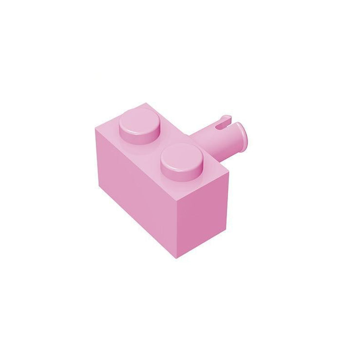 Brick Modified 1x2 with Pin #2458