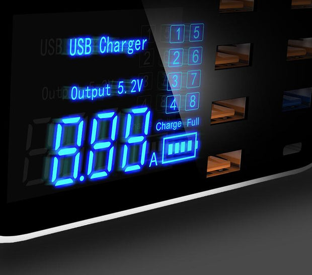 Quick Charge 3.0 / Ordinary Smart USB Charger Station - Gadgets Center