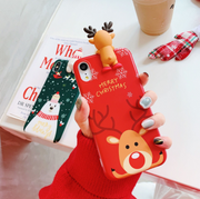 Cartoon Christmas Deer - Gadgets Center