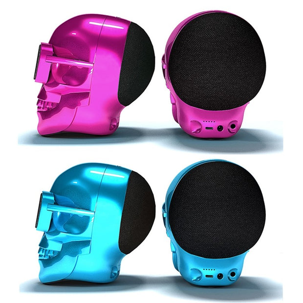 Skull Wireless Bluetooth Speaker - Gadgets Center