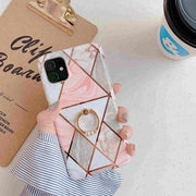 Pink Geometric Marble Phone Case - Gadgets Center
