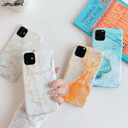 White Marble Silicone Phone Cases - Gadgets Center