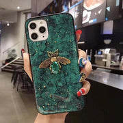 Gold Foil Bling Exotic Bee Phone Case - Gadgets Center