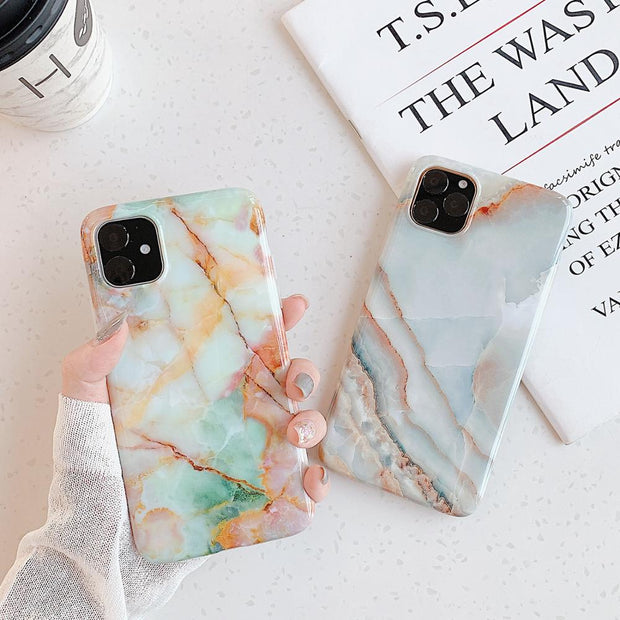 Glossy Marble Phone Cases - Gadgets Center