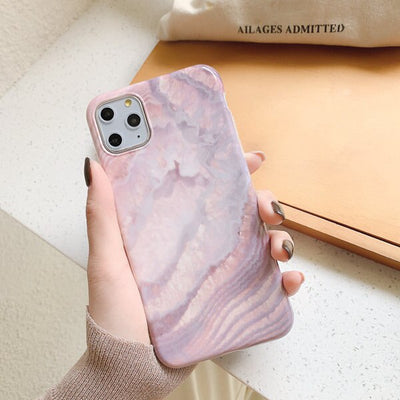 Purple Marble Phone Cases - Gadgets Center