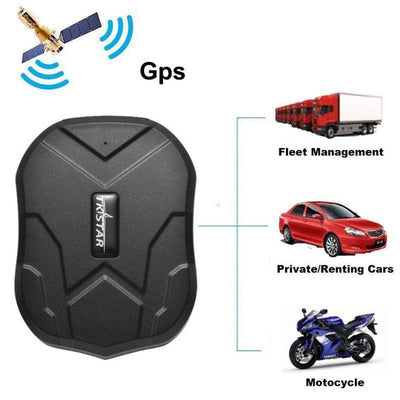 GPS Tracker Car 5000mAh Waterproof - Gadgets Center