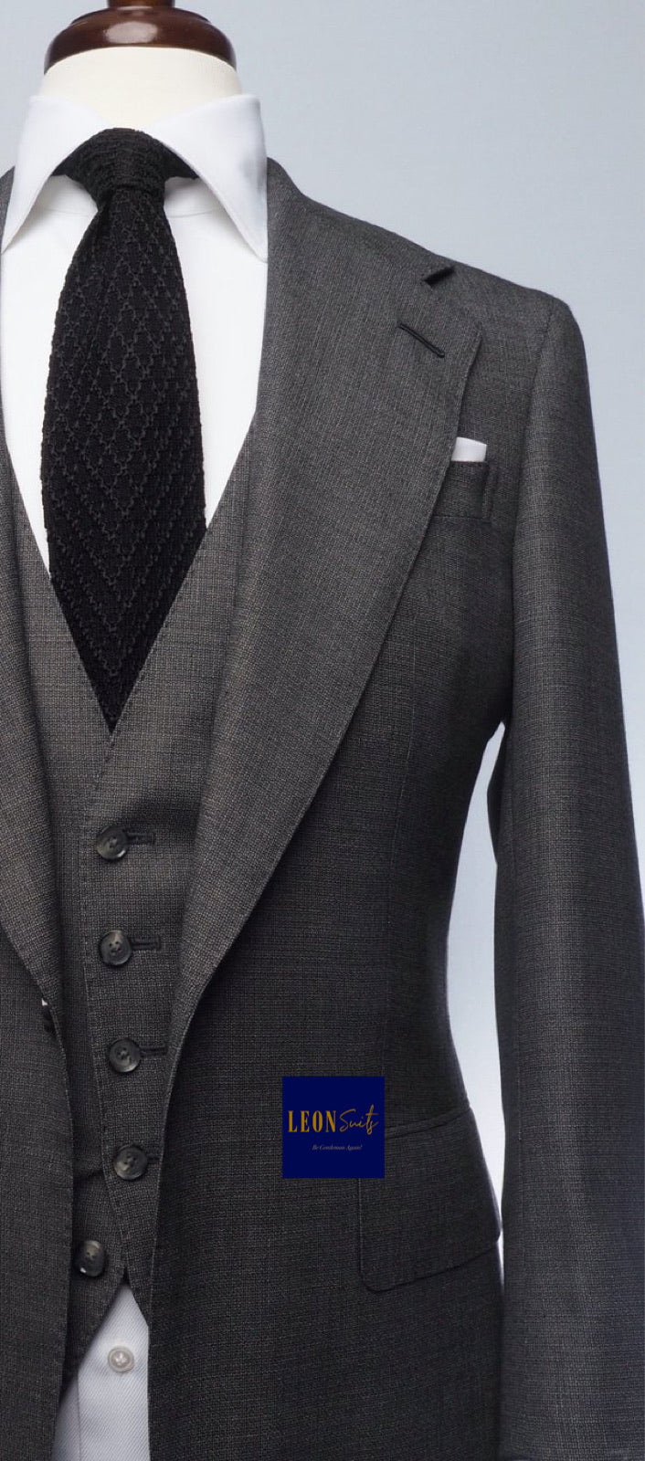 Dark Grey 3-Piece Suit