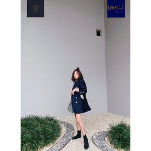 Deep Navy Stylish Design Blazer