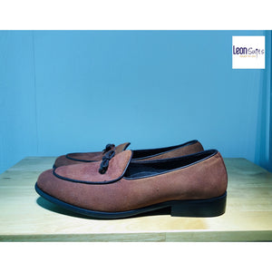 Leon Brown Tassel Loafer