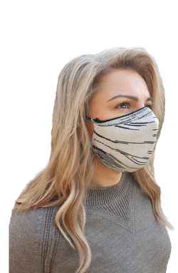 Cotton Space Dyed Face Mask
