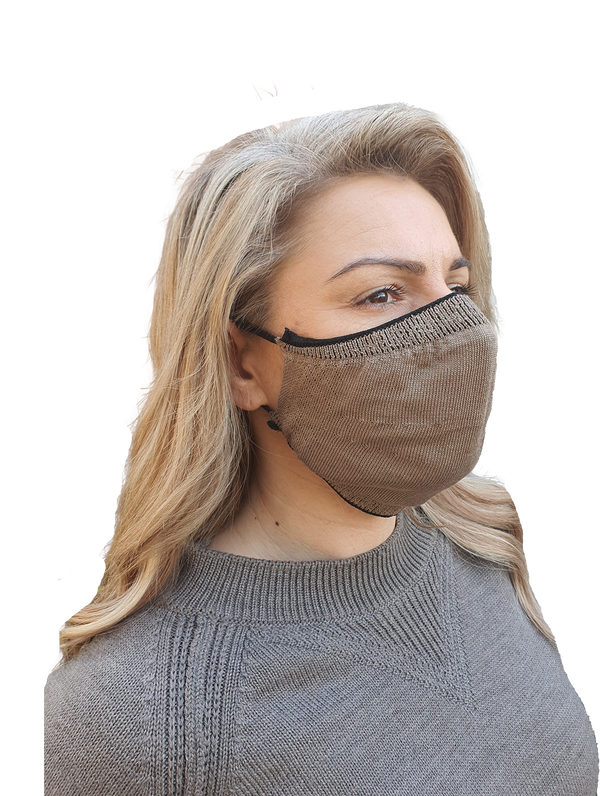 100% Cotton Solid Face Mask