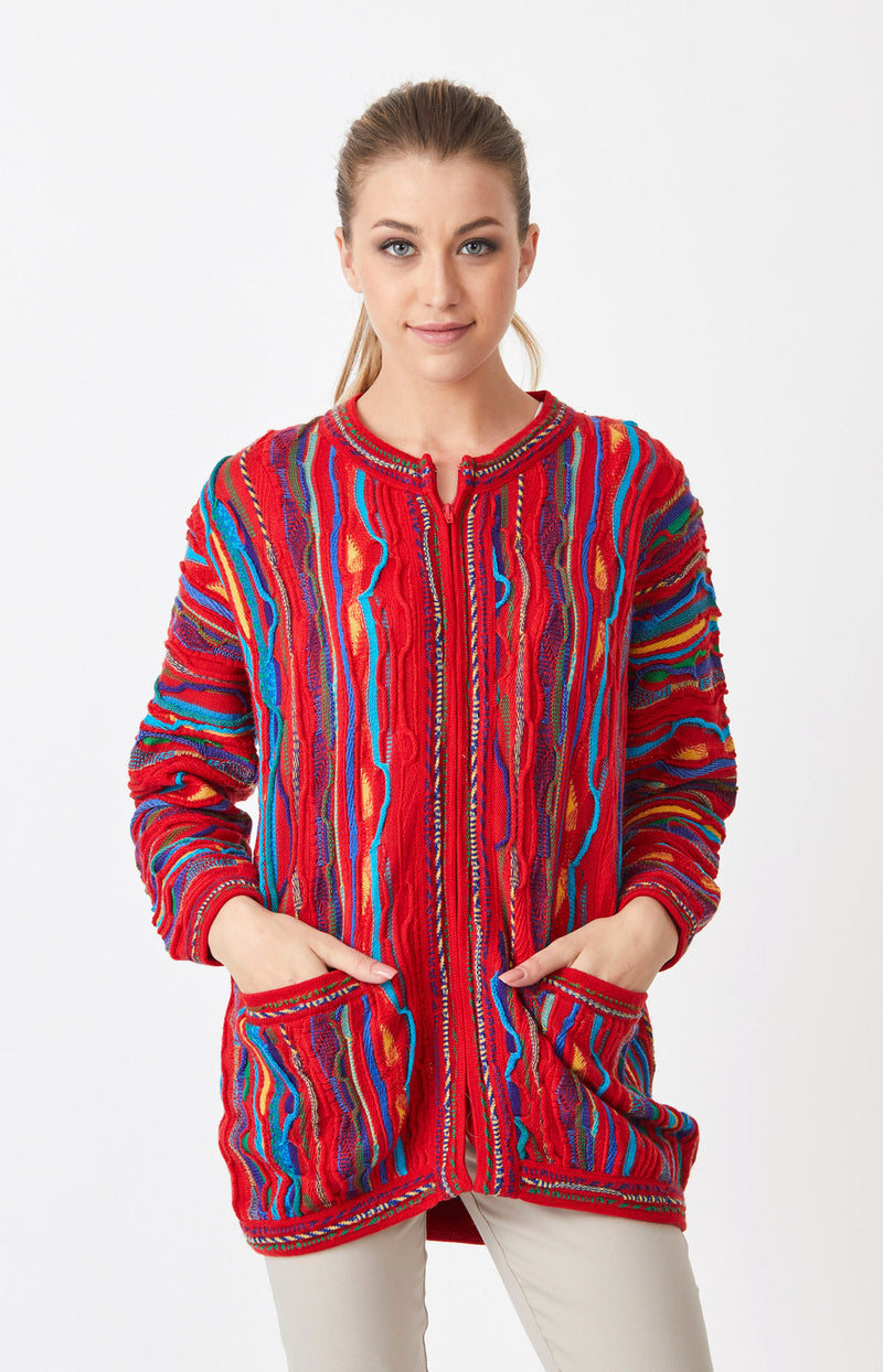Billabong Long Zip Cardigan