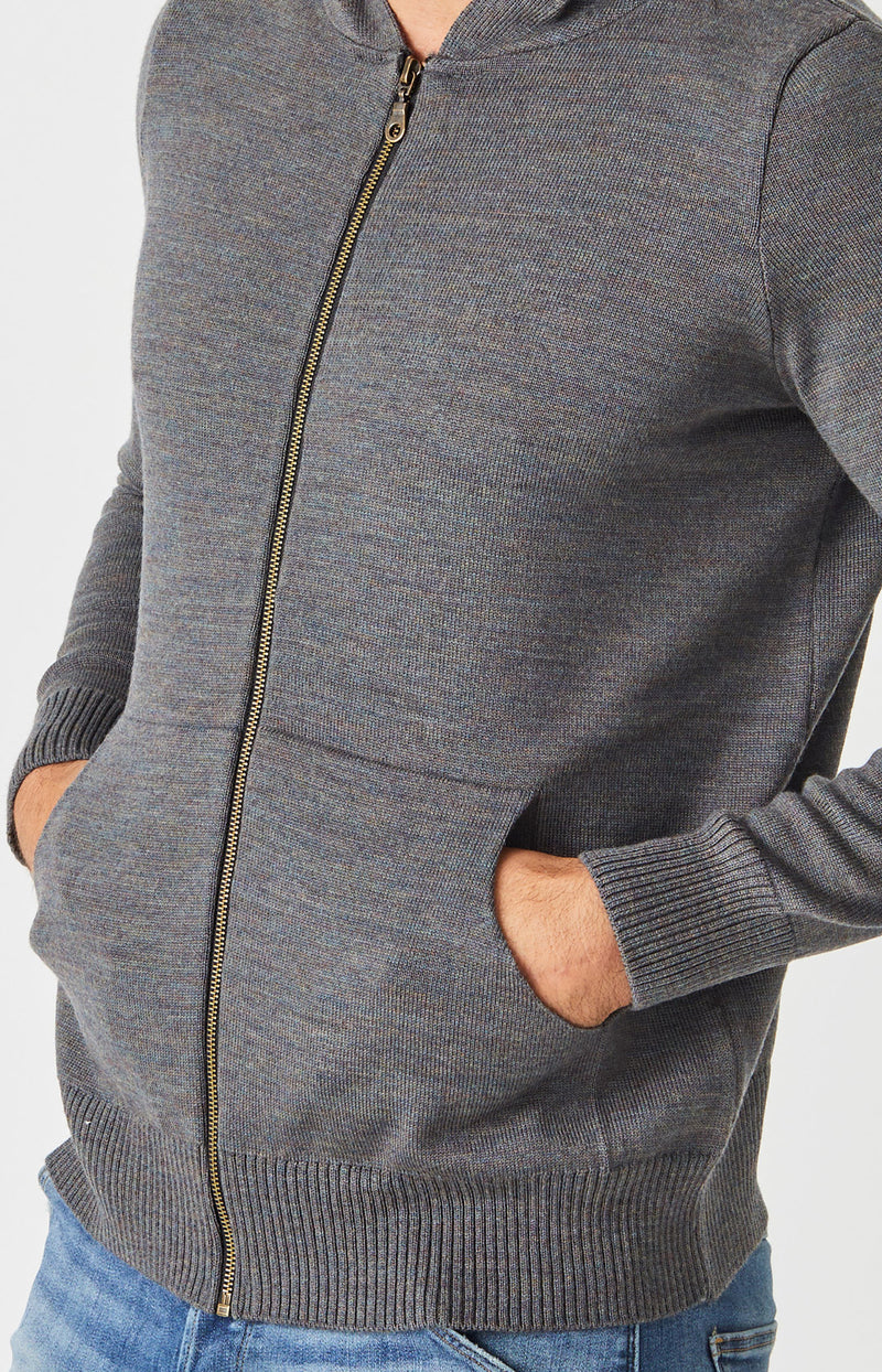 Jacob Zip Hoodie with Pockets