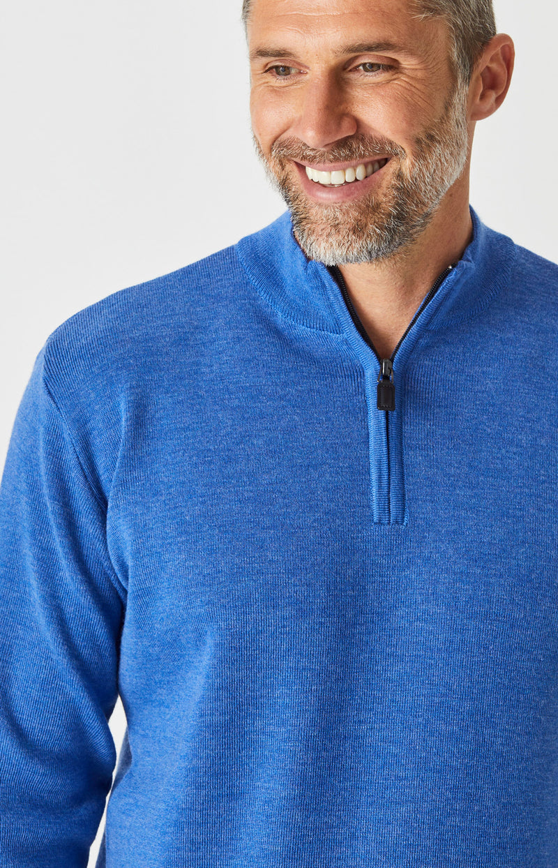 Merino Half Zip Sweater