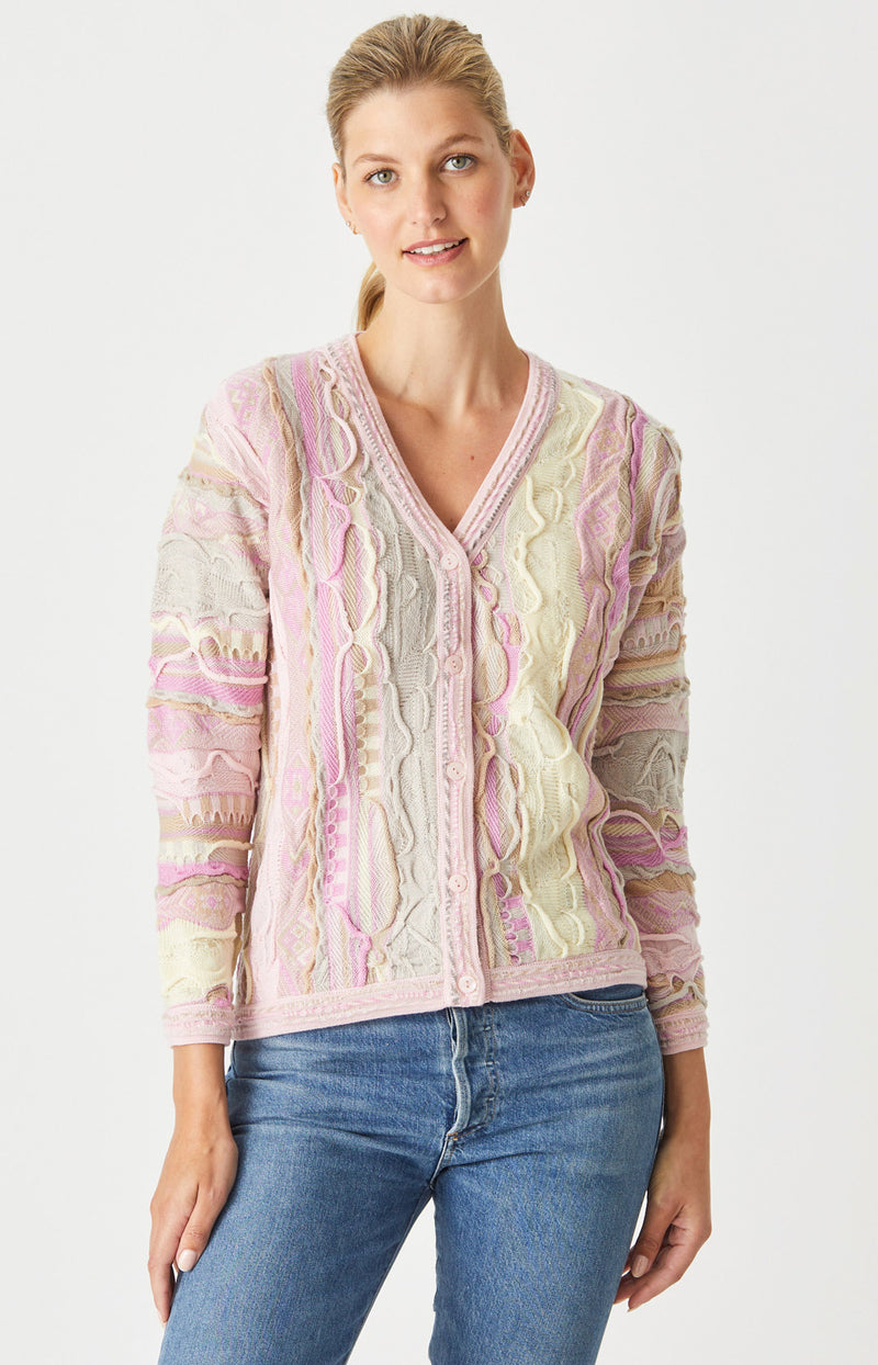Storm V Buttoned Cardigan