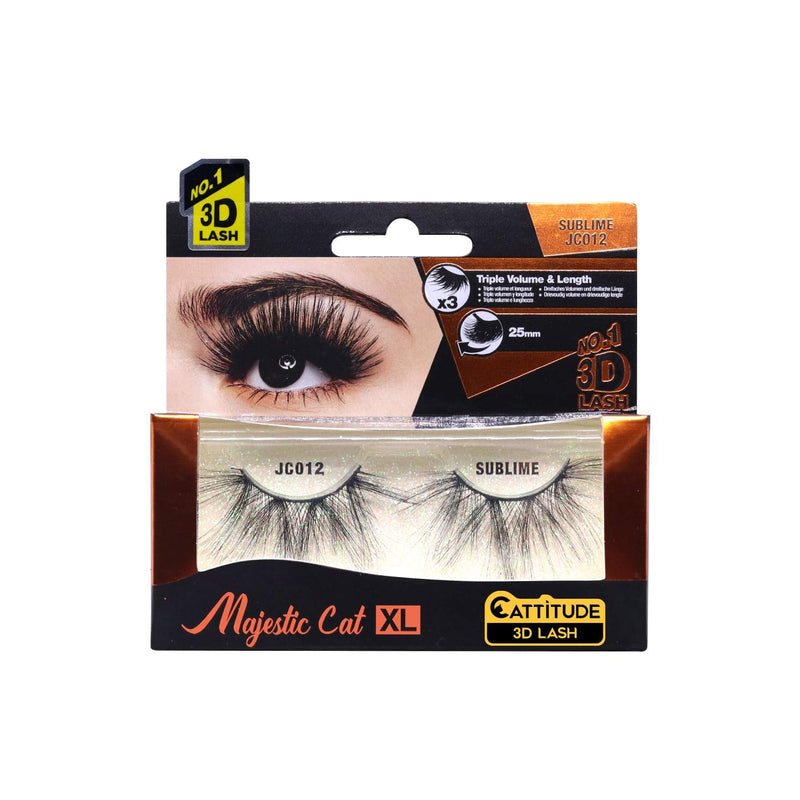 SUBLIME - MAJESTIC CAT 25MM 3D LASHES