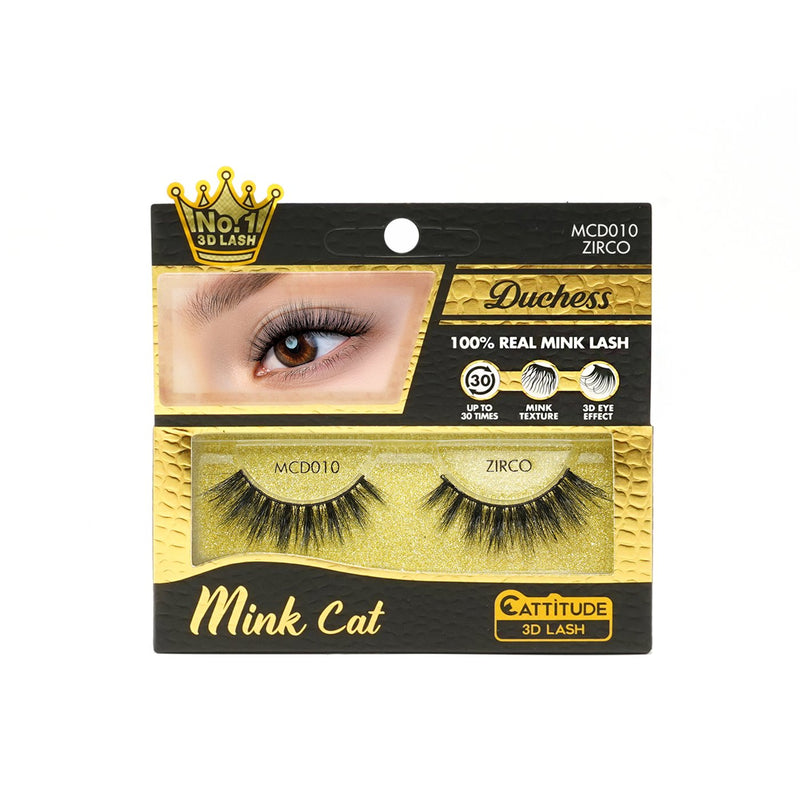 ZIRCO - DUCHESS MINK CAT 3D LASHES