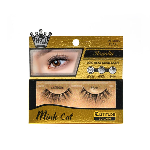 PEARL - ROYALTY MINK CAT 3D LASHES