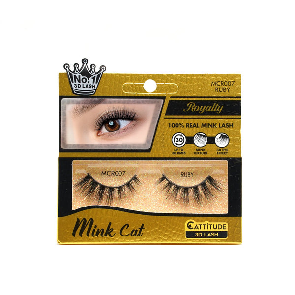 RUBY - ROYALTY MINK CAT 3D LASHES