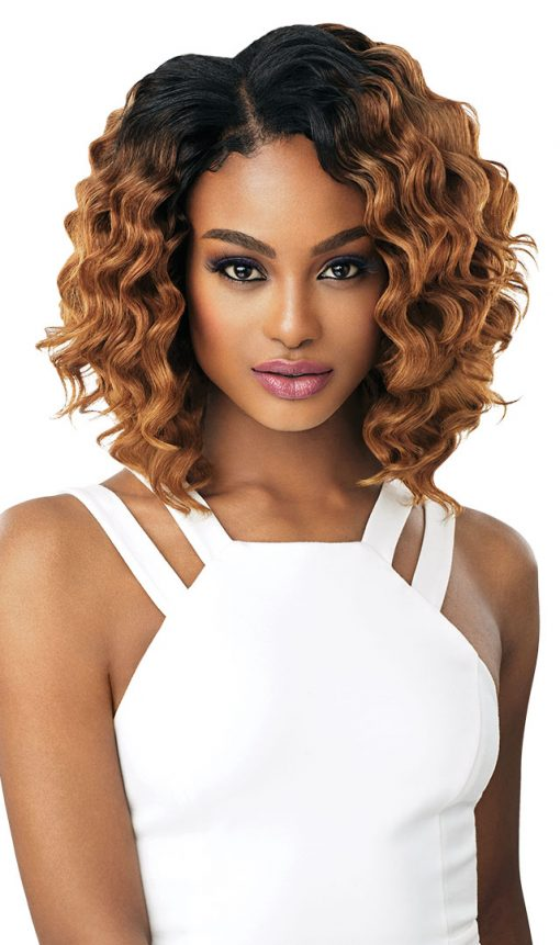 100% HUMAN HAIR BLEND WAVE