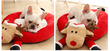 Load image into Gallery viewer, Christmas Reindeer Shape Step-On Foam Pet Mattress