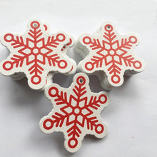 Load image into Gallery viewer, 10 PCs Natural Wood Christmas Ornaments
