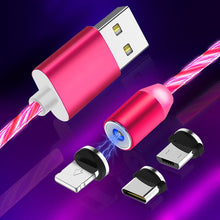 Load image into Gallery viewer, Led Magnetic ALEXIEN 3 In 1 Usb Charging Cable