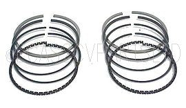 Piston ring set, (for 2 pistons) 602cc 1969 up to late 1976. 74mm (see notes)