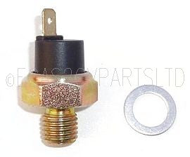 Oil low pressure sender switch 602cc, Lucar connector 1970> MOST COMMON TYPE.