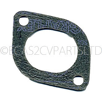 Gasket, high quality 'carbon fibre', EXHAUST manifold to cylinder head 2cv6 etc.