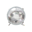 Headlight reflector/glass unit, Dyane 12/78 onward.