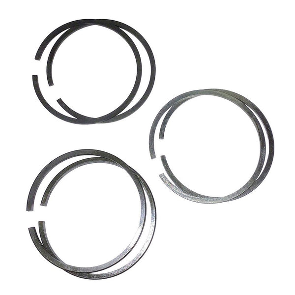Piston ring set, (for 2 pistons) 66mm diam., 425cc 2cv up to 1969