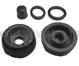 Repair kit, seals only, rear wheel cyl., 1981 onward, 2cv6, Dyane6, LHM, 16mm bore.
