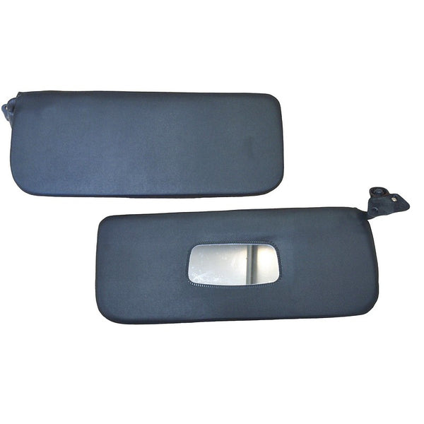 Sun visor, 2cv, pair anthracite (dark) grey only. Best original quality. See notes.