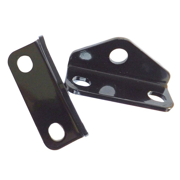 Pair of non painted bracket for rear sill mounting point of front seat belt 2cv6 etc.