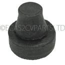 Bonnet rubber stop on bumper, 2cv, (2 fitted). EACH