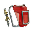 Rear light complete, 2cv, right, 1964 to 1969