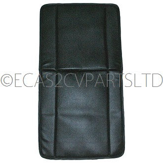 Front seat cover (1), left or right, black targa vinyl for AK400 and AZU.