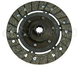 Clutch friction plate, 10 splines, 1955 to 1966, for use WITH centrifugal clutch or standard clutch