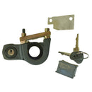 Steering column ignition lock switch assembly, 2cv6, includes U-bolt & nuts. Made by Burton. See notes. IN STOCK