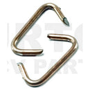 Hog ring clips for use with hog ring pliers, PER 50 pieces.