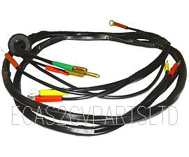 Headlight wiring loom harness for two headlamps, 2cv up to 1965