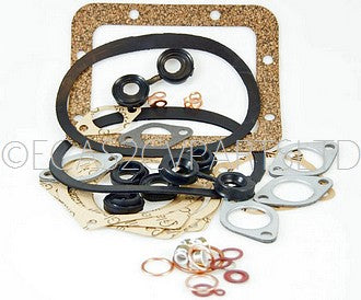 Engine gasket set, 2cv 1963 to 1969, 4 stud, complete with gearbox gaskets & damper gaskets.